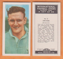 Sunderland Don Revie England 13 KIF